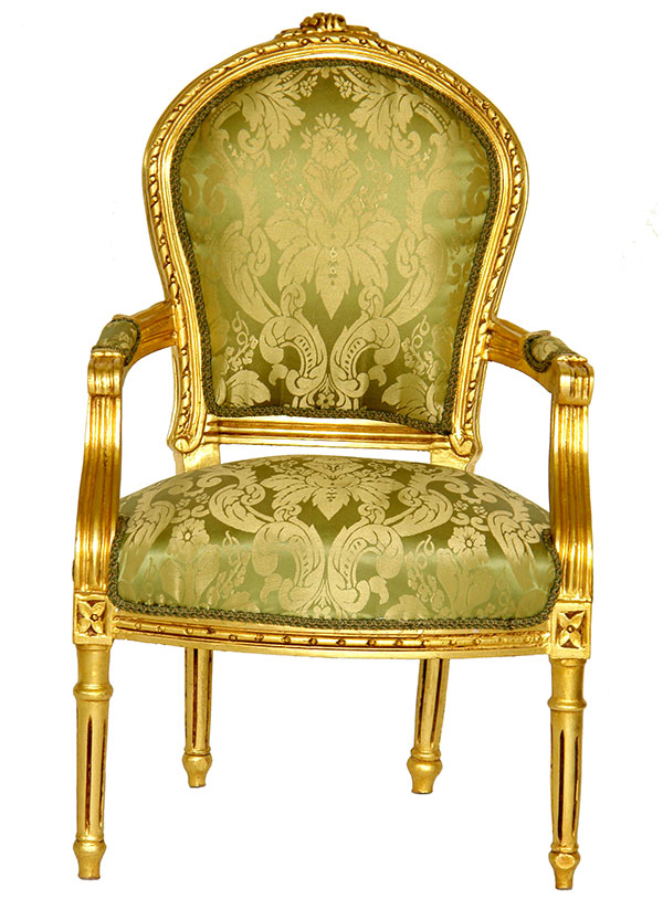 barockstuhl barock stuhl sessel sitzm bel antik gold ebay. Black Bedroom Furniture Sets. Home Design Ideas