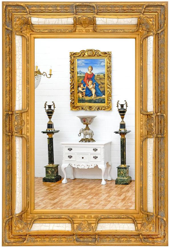 wei er spiegel weisser spiegel moreko gmbh. Black Bedroom Furniture Sets. Home Design Ideas