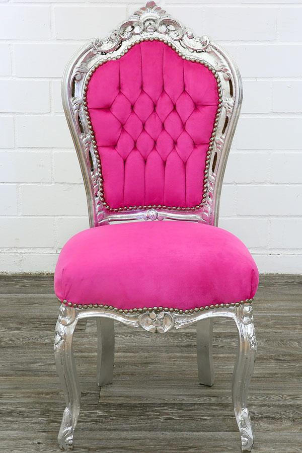 Gmbh Pink Silber Pink Esszimmerstuhl Silber Esszimmerstuhl Pink Moreko Moreko Silber Gmbh Esszimmerstuhl tdQChrs