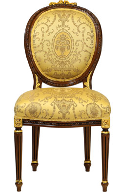 French oval Chair - Esszimmerstuhl