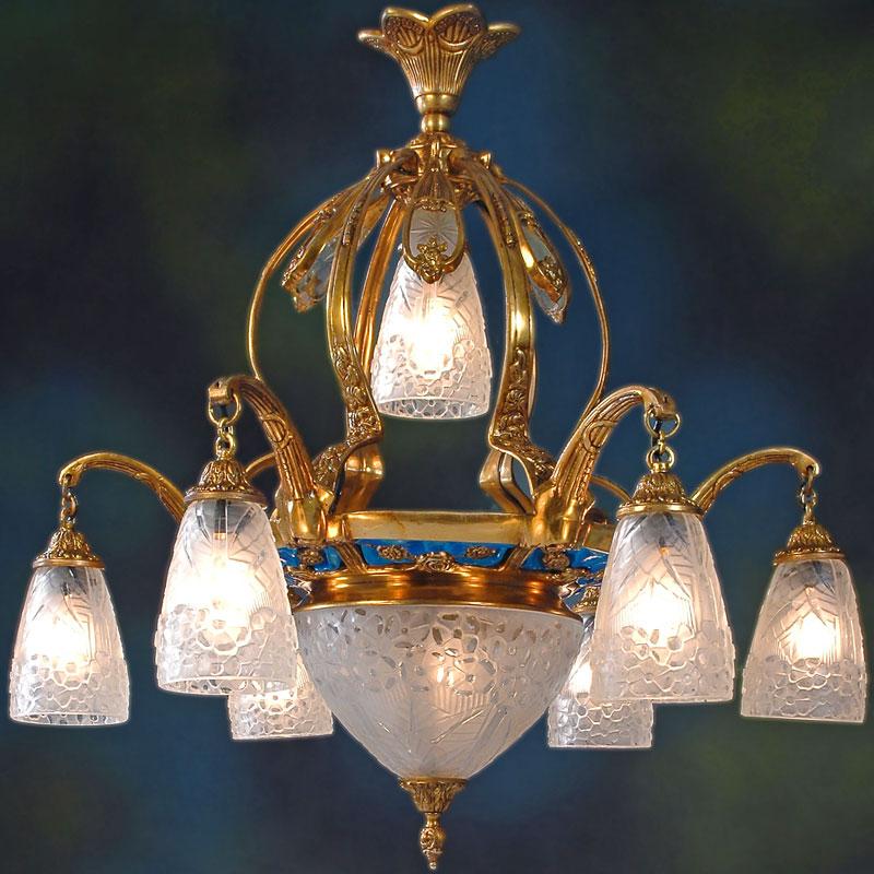 Jugendstil Deckenlampe jugendstil deckenlampe budapest - moreko gmbh
