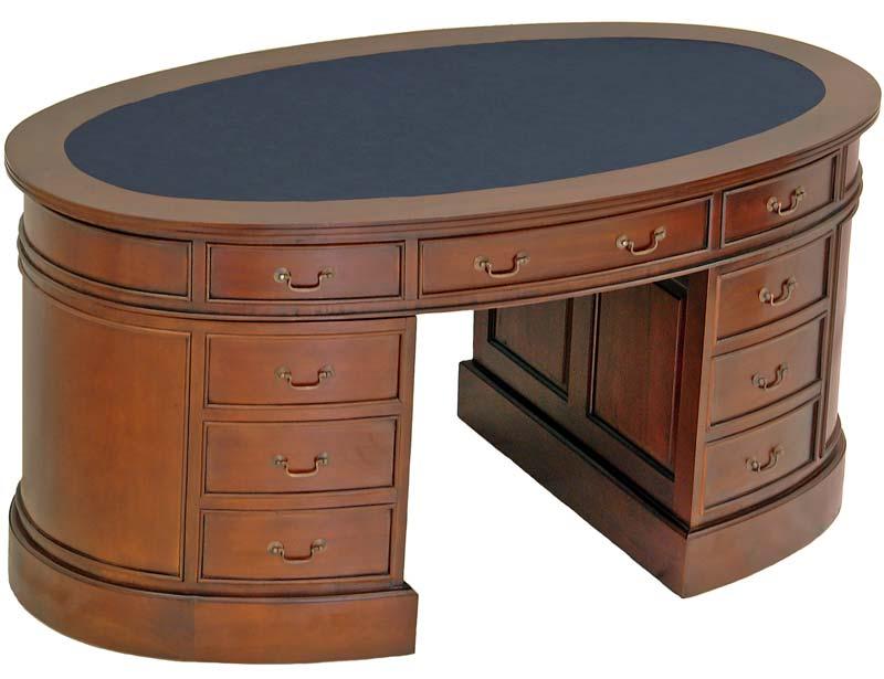 schreibtisch oval moreko gmbh. Black Bedroom Furniture Sets. Home Design Ideas