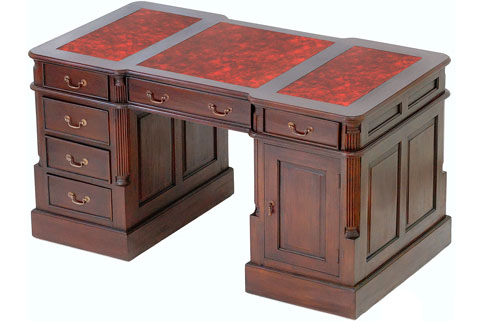 mahagoni schreibtisch mahagoni schreibtische moreko gmbh. Black Bedroom Furniture Sets. Home Design Ideas